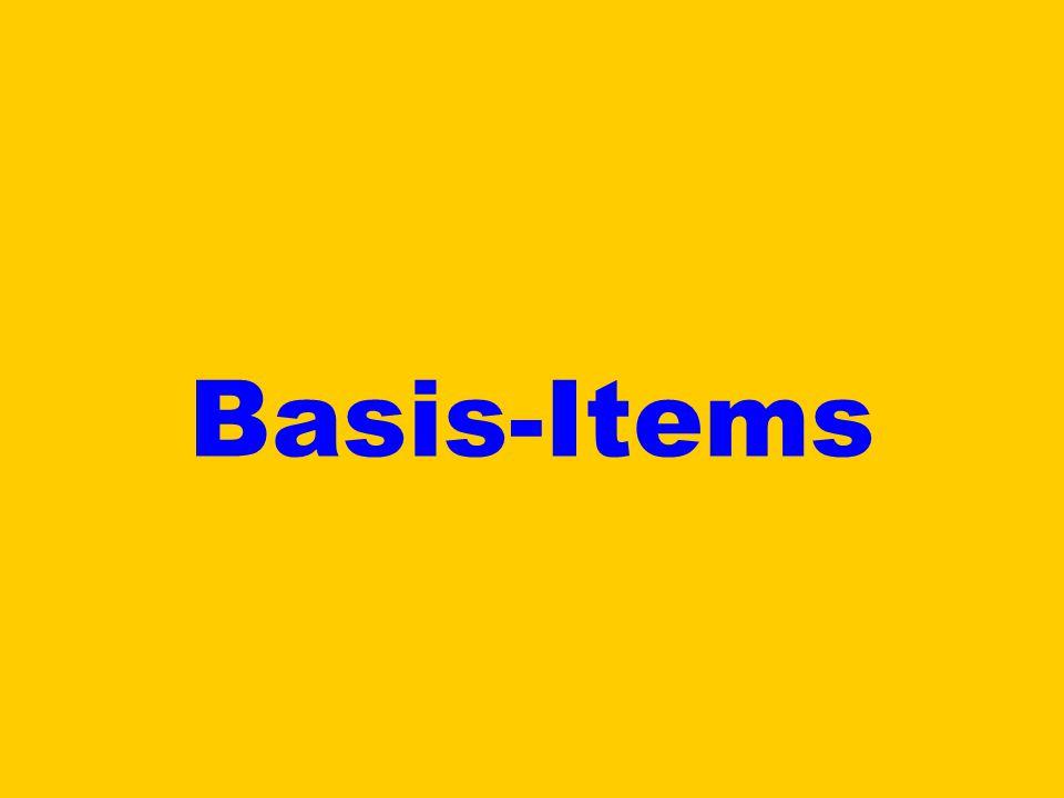Basis-Items