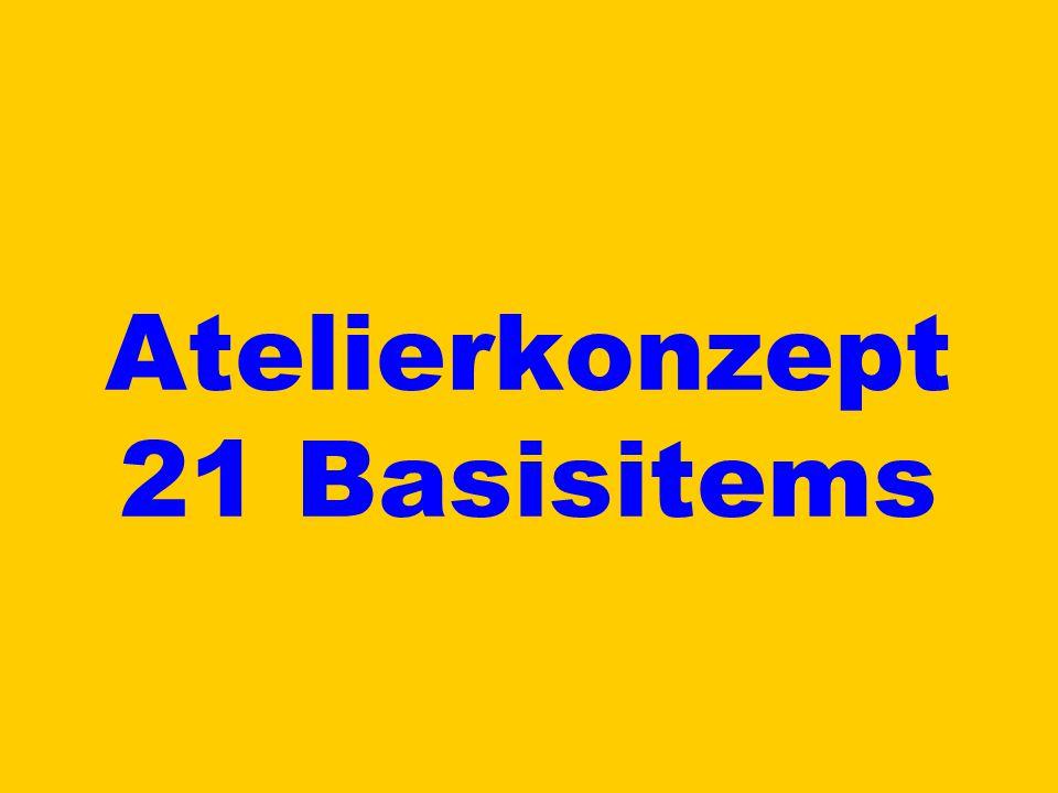 Atelierkonzept 21 Basisitems