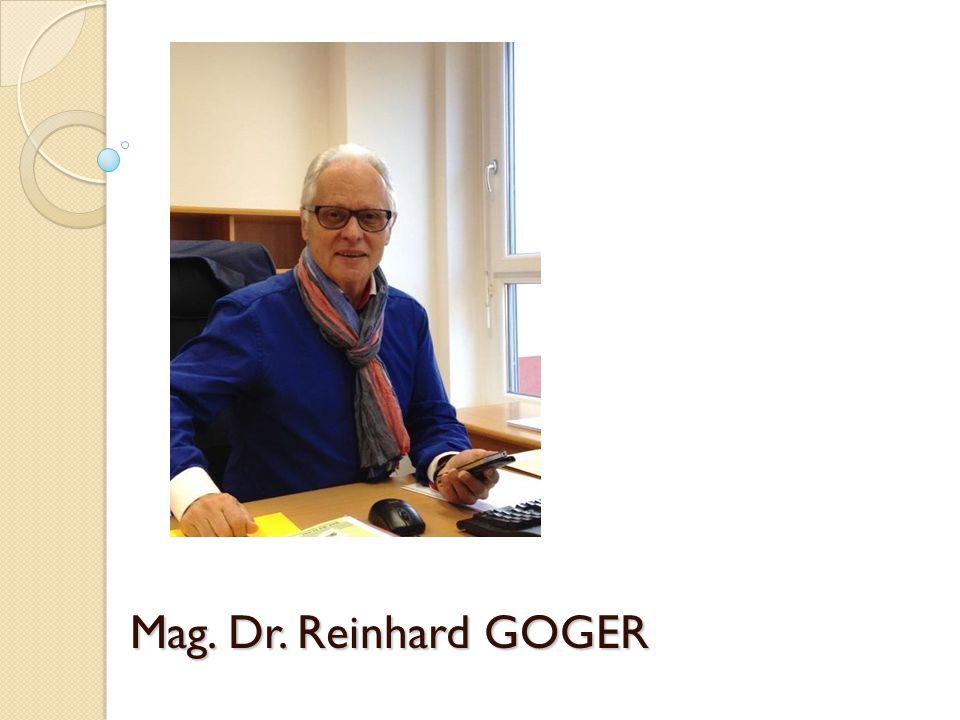 Mag. Dr. Reinhard GOGER