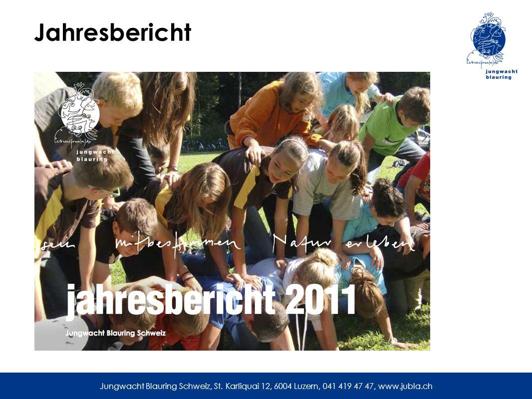 Jahresbericht Jungwacht Blauring Schweiz, St.