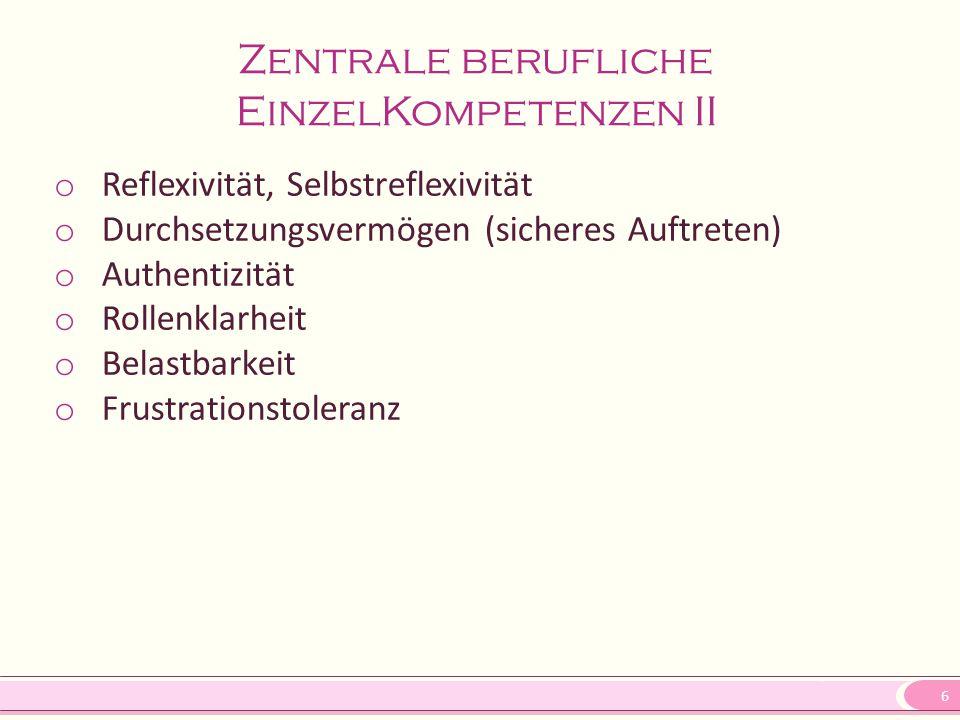 7 Anstellungsträger o Öffentliche Träger der Sozialen Arbeit z.B.