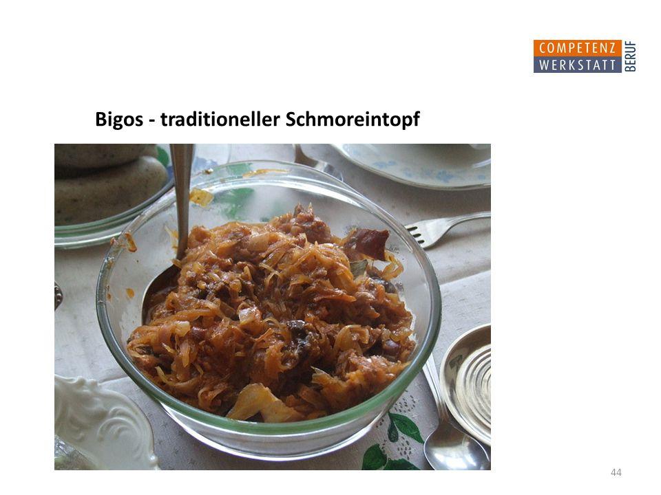 44 Bigos - traditioneller Schmoreintopf