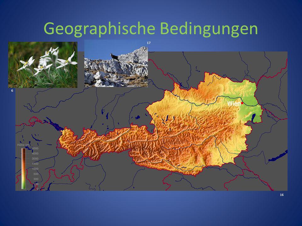 Geographische Bedingungen 6 16 17