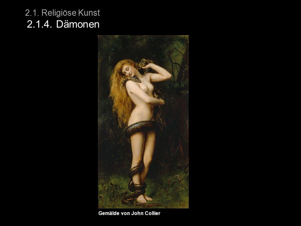 2.1. Religiöse Kunst 2.1.4. Dämonen Gemälde von John Collier