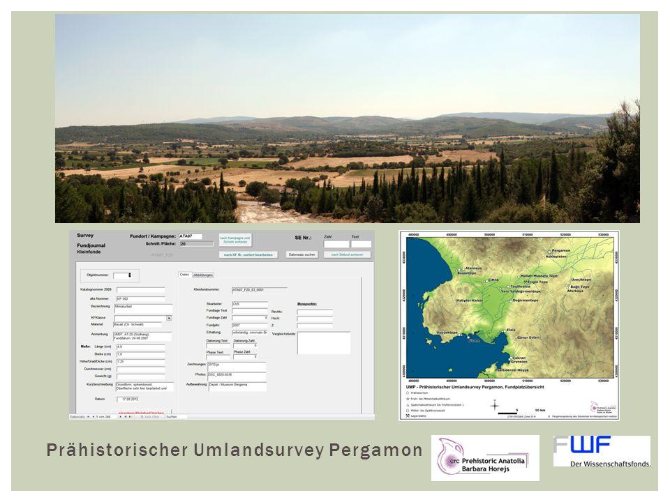 Prähistorischer Umlandsurvey Pergamon