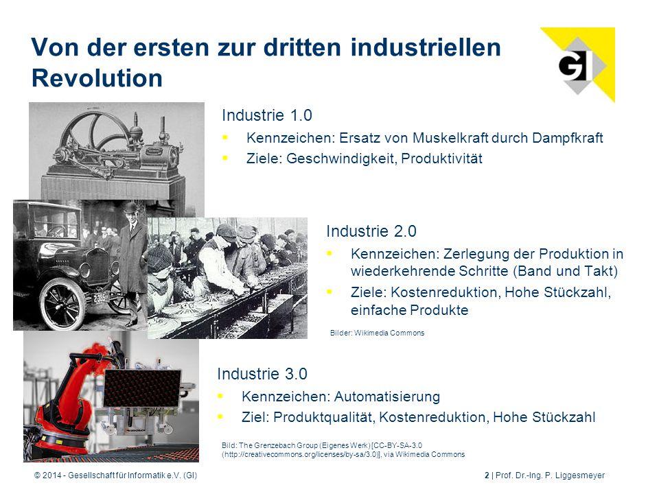 © 2014 - Gesellschaft für Informatik e.V.(GI)2 | Prof.