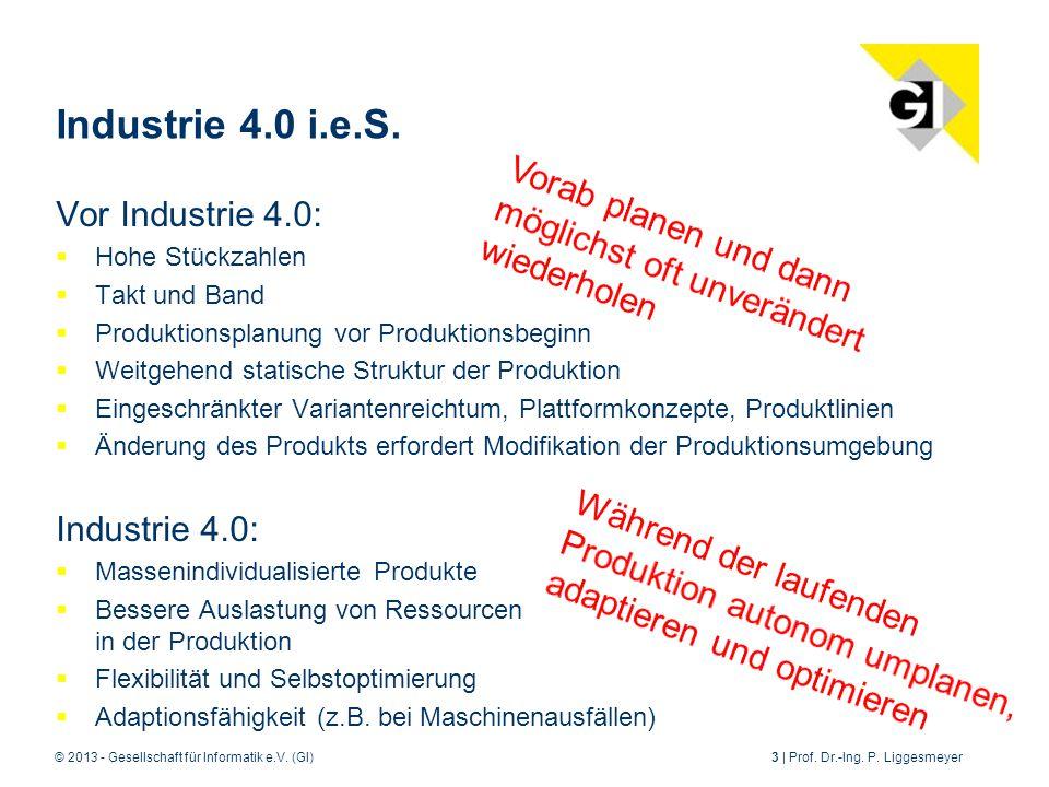 © 2013 - Gesellschaft für Informatik e.V.(GI)3 | Prof.