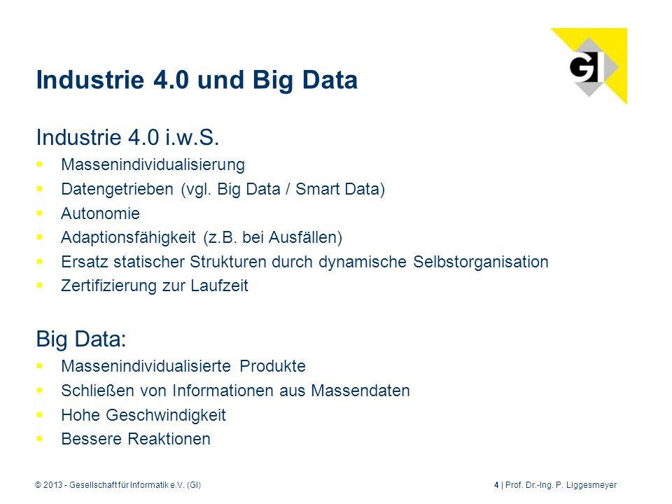 © 2013 - Gesellschaft für Informatik e.V.(GI)4 | Prof.