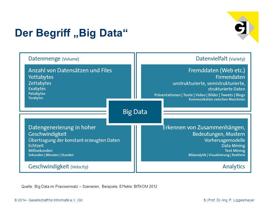 © 2014 - Gesellschaft für Informatik e.V.(GI)5 | Prof.