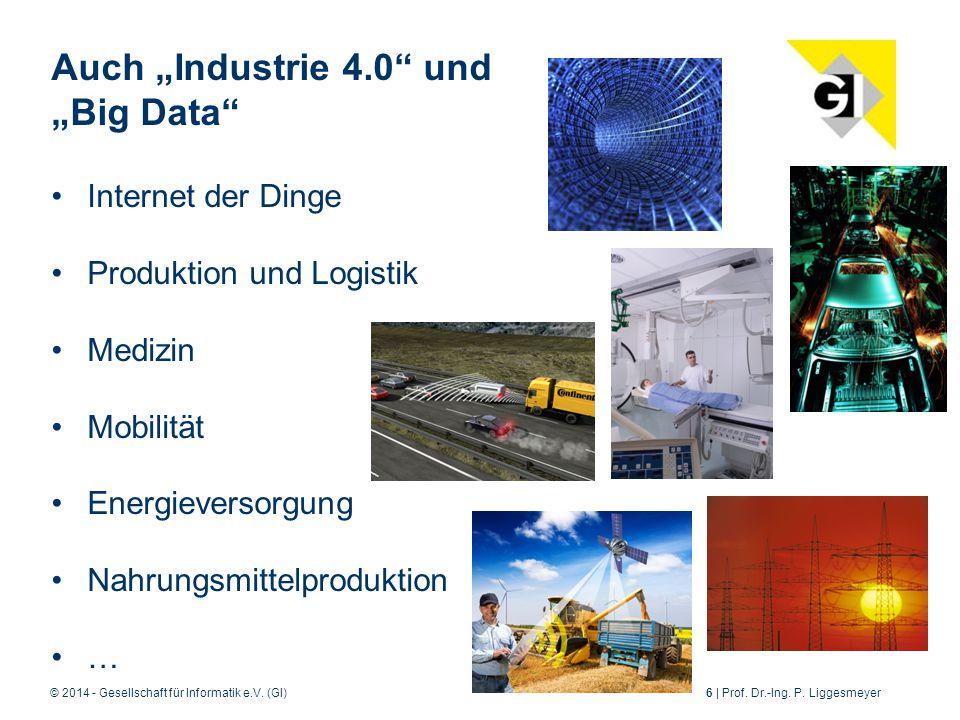 © 2014 - Gesellschaft für Informatik e.V.(GI)6 | Prof.