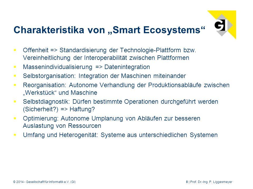 © 2014 - Gesellschaft für Informatik e.V.(GI)8 | Prof.
