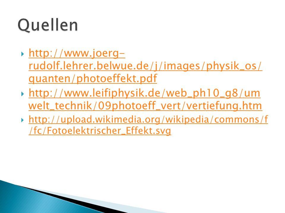  http://www.joerg- rudolf.lehrer.belwue.de/j/images/physik_os/ quanten/photoeffekt.pdf http://www.joerg- rudolf.lehrer.belwue.de/j/images/physik_os/