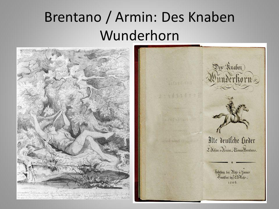 "Brentano: Lureley (""Zu Bacherach am Rheine… )"