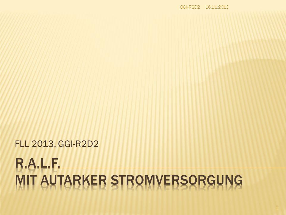 FLL 2013, GGI-R2D2 16.11.2013GGI-R2D2 1