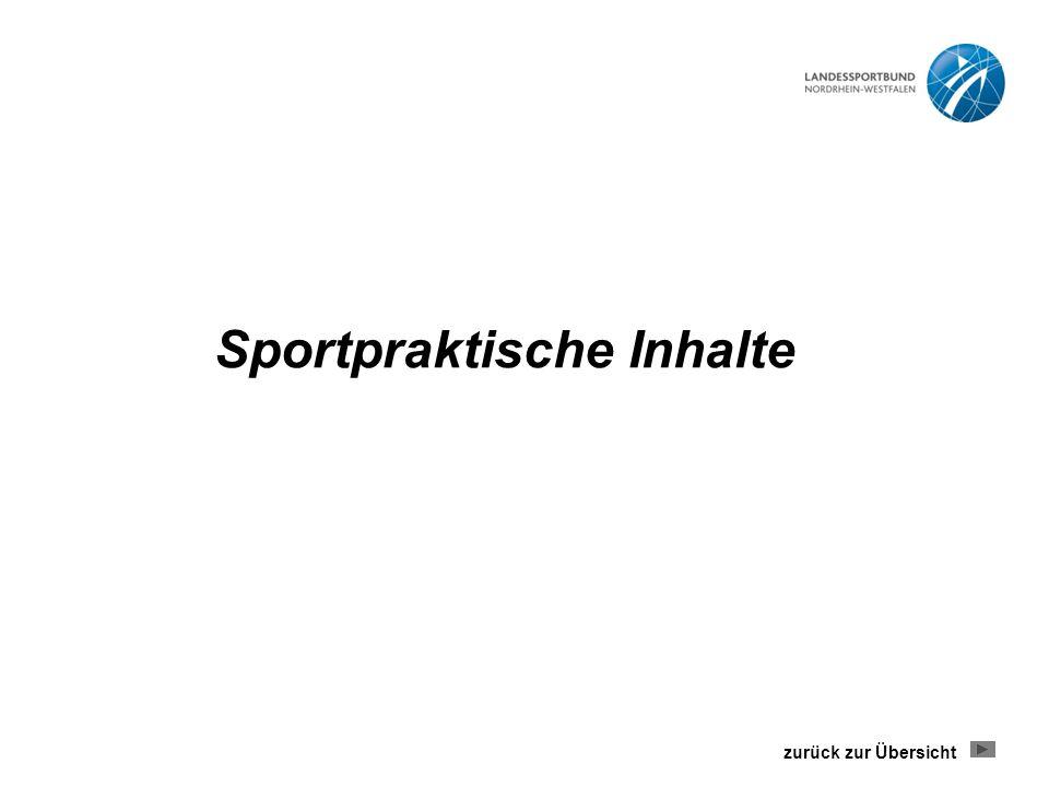 Sportpraktische Inhalte zurück zur Übersicht