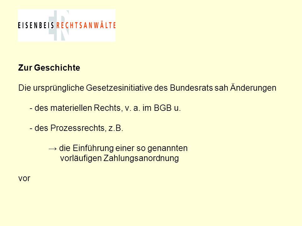Abschlagszahlungen im BGB-Bauvertrag (2) Abschlagszahlungen können nach § 632 a Abs.