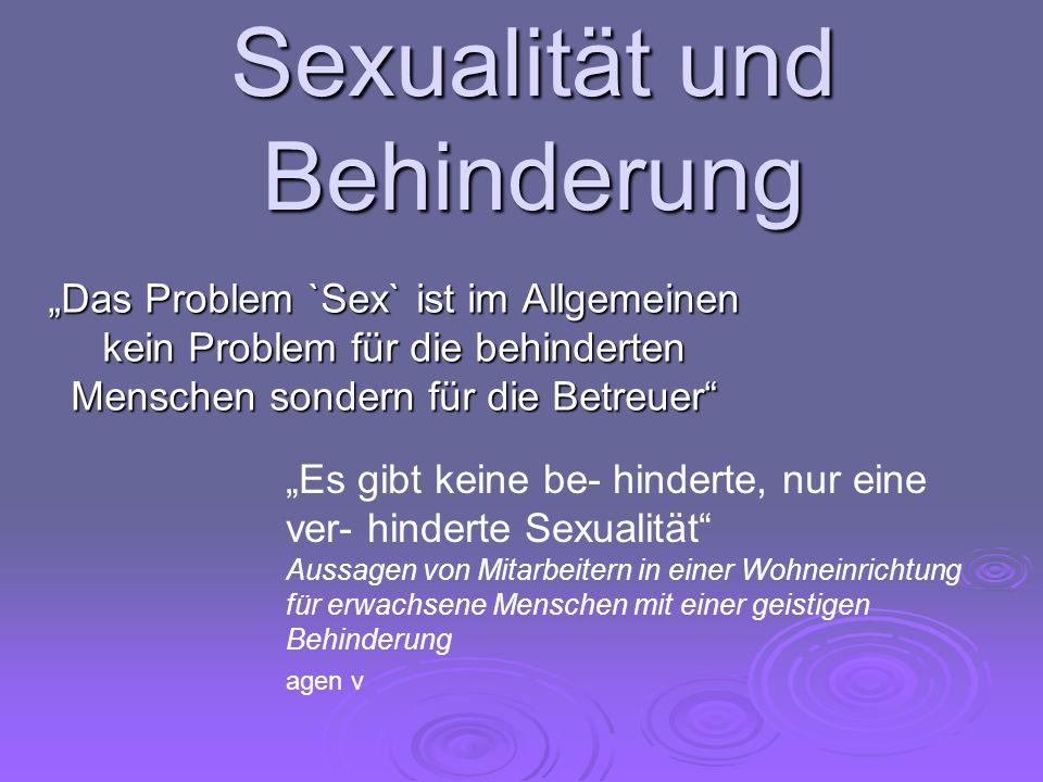 """""""Sexualität ist das ganze Gebiet von Verhaltensweisen in den allgemein menschlichen Beziehungen, im Mittelbereich von Zärtlichkeit, Sensualität, Erotik und in der Genitalsexualität (Sporken 1974)"""