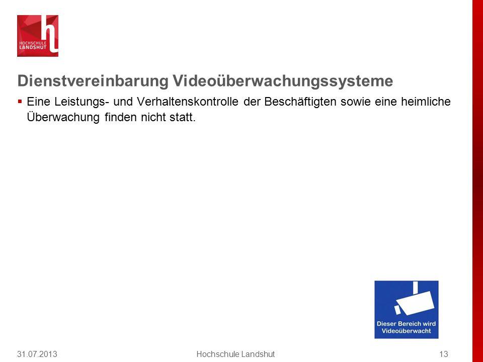 Dienstvereinbarung Videoüberwachungssysteme  Zur Vermeidung und Aufklärung von Ordnungswidrigkeiten von erheblicher Bedeutung und Straftaten … in beg