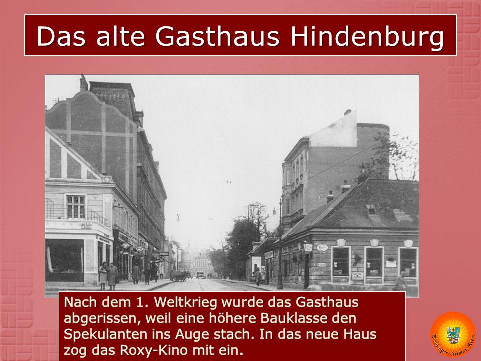 Das alte Gasthaus Hindenburg