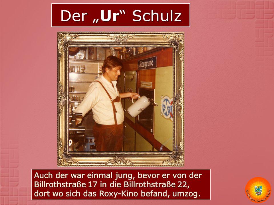 """Der """"Ur Schulz"""