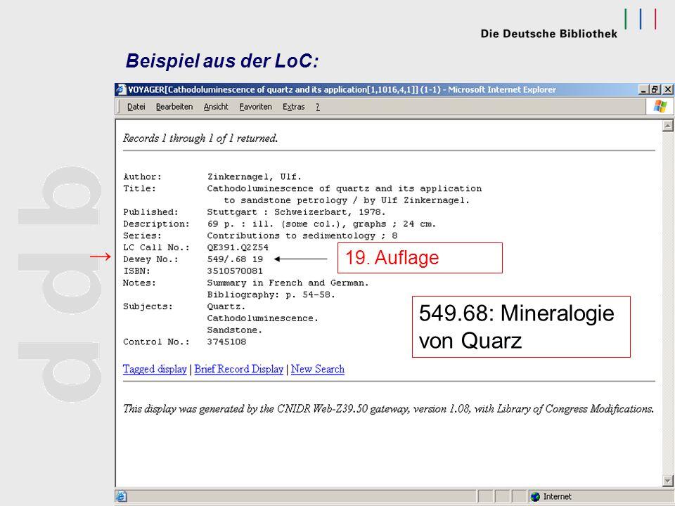 scheven@dbf.ddb.deODOK '03, Salzburg 2003 Erschließung von Online- Dissertationen mit DDC cont. Arbeitsmittel: DDC-Ausgabe, 21. Aufl., gedruckt Web-De