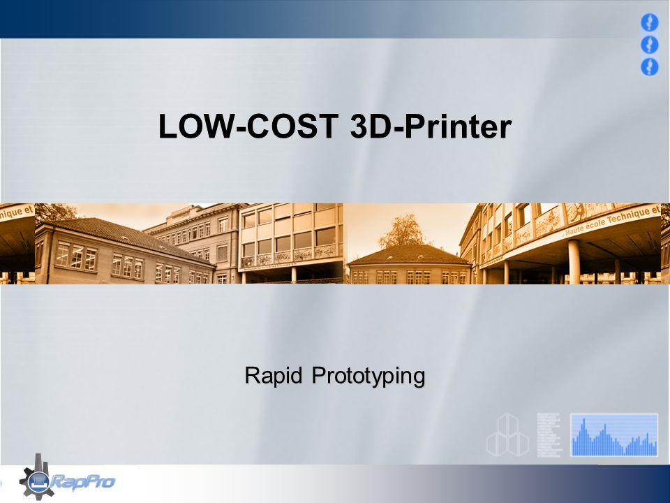 Einleitung Thema/ Auftrag Der im Prozessmodul entwickelten low-cost 3D-Printer herzustellen, in Betrieb zu nehmen und auszutesten.
