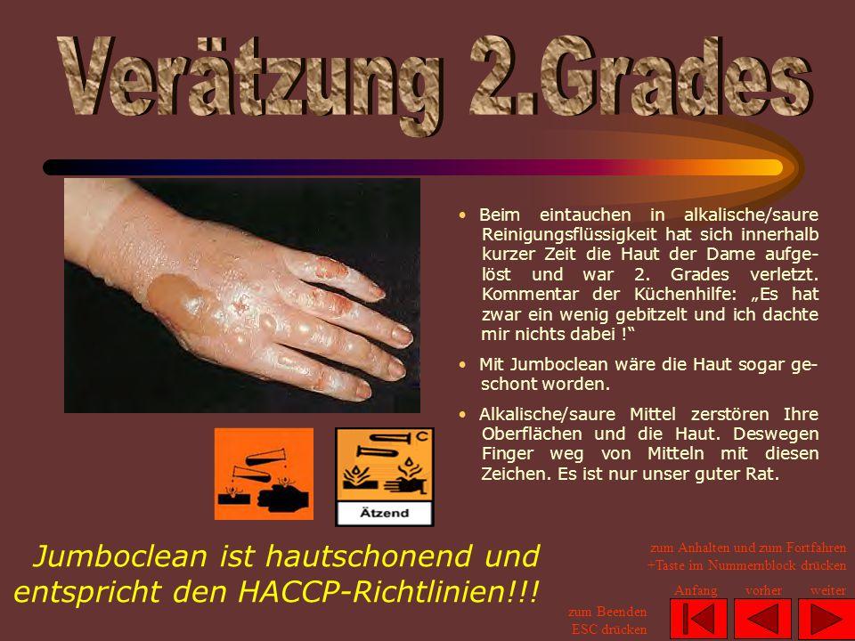 Zertifikat für den freien Verkauf (nach HACCP) zum Anhalten und zum Fortfahren +Taste im Nummernblock drücken zum Beenden ESC drücken Anfangvorherweiter Regierungspräsidium Gießen Datum: 4.
