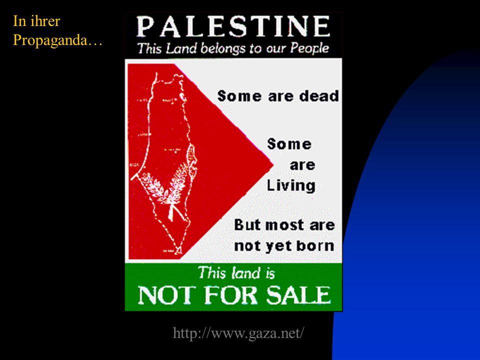 Palästinensische politische und militärische Vereinigungen - alle zeigen das gesamte Israel in ihren Symbolen In ihrer Politik…