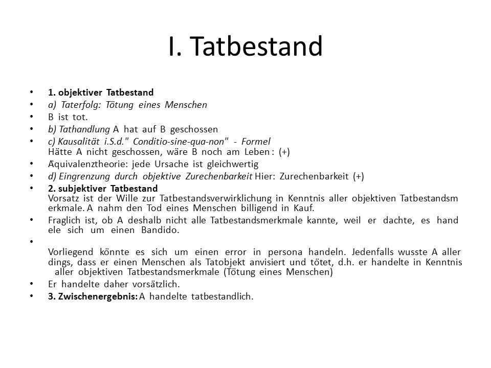 B.STRAFBARKEIT GEMÄß §222 A könnte sich jedoch gem.