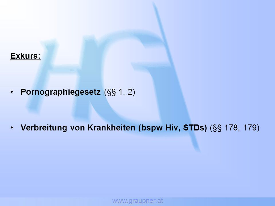 www.graupner.at Fallbeispiele Geistig abnormer Exhibitionist Kindesmißbrauchstäter Sexueller Sadismus