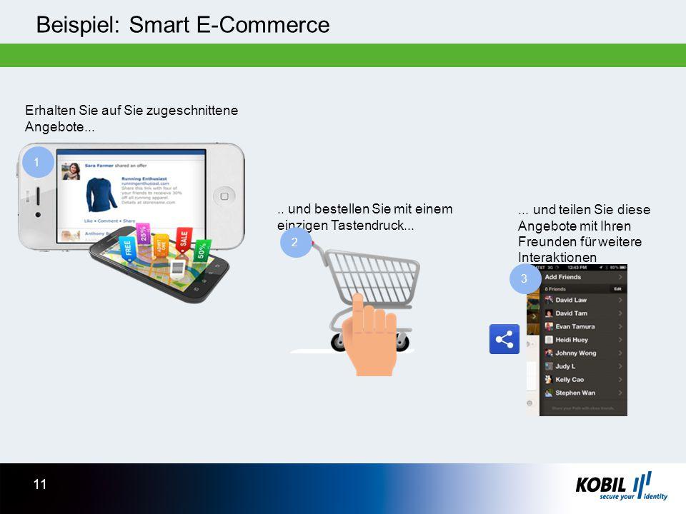 Beispiel: Smart E-Commerce.. und bestellen Sie mit einem einzigen Tastendruck...... und teilen Sie diese Angebote mit Ihren Freunden für weitere Inter