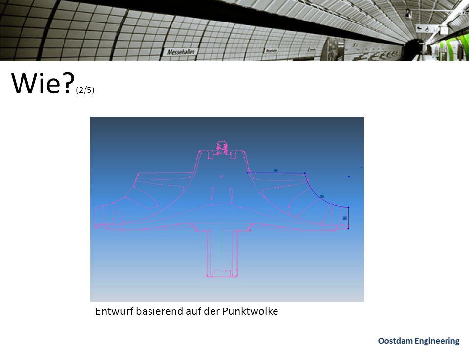 Wie (2/5) Entwurf basierend auf der Punktwolke