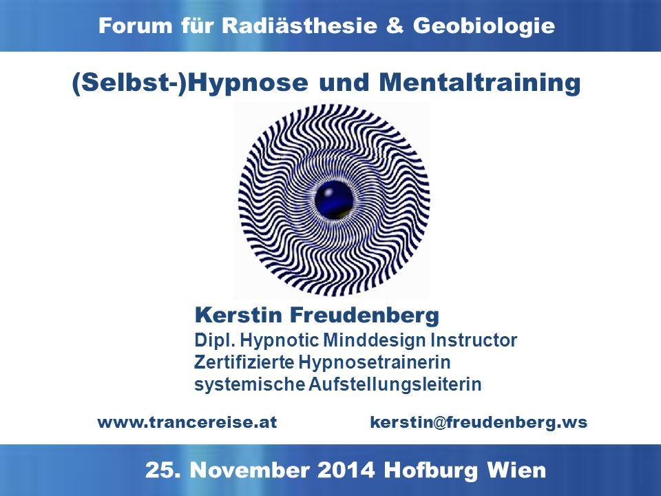 Was wissen Sie über Hypnose und Mentaltraining?
