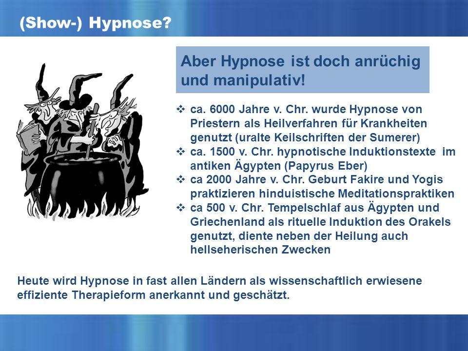 (Show-) Hypnose.