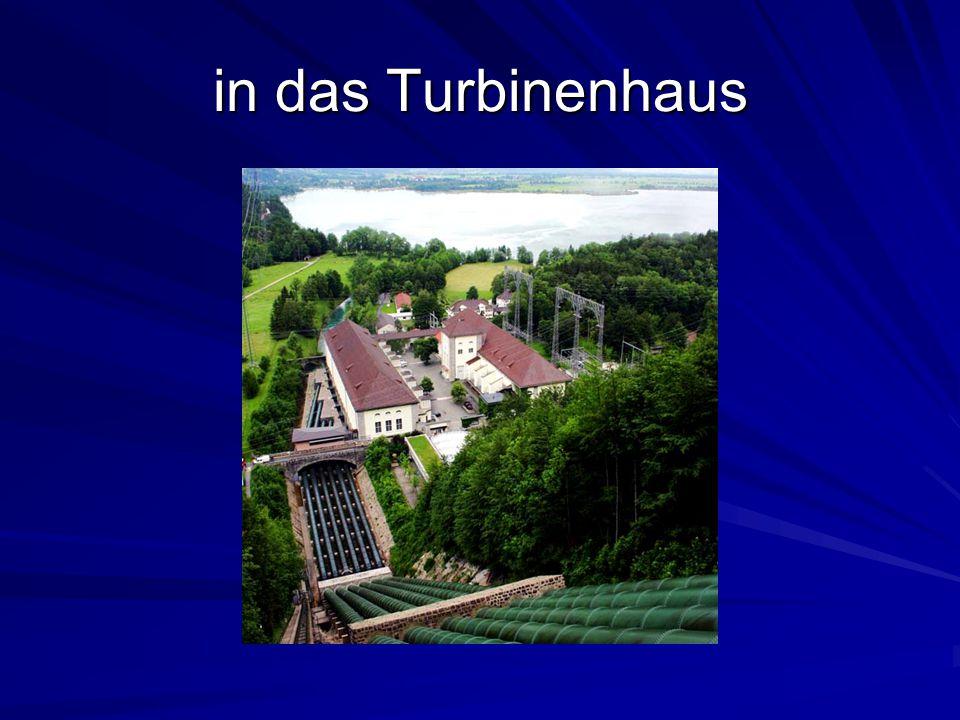 Die bisherige Turbinenbautechnik begrenzt die Möglichkeiten der Leistungsverbesserung Die Kraft bzw.