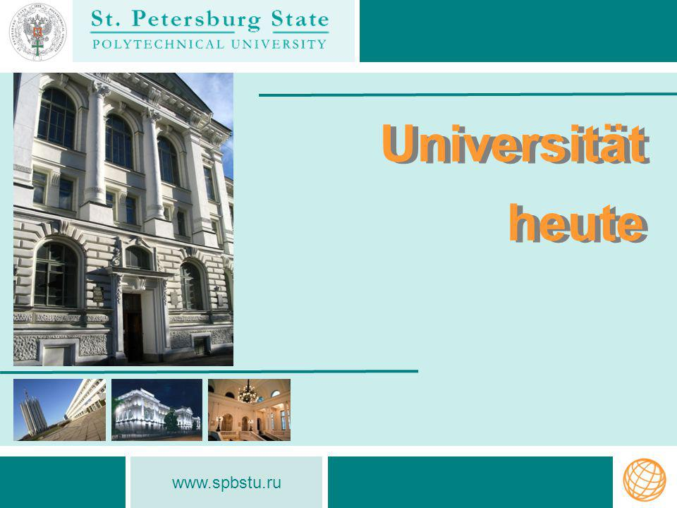 www.spbstu.ru University in the QS World University Rankings University in the QS World University Rankings St.Petersburg State Polytechnical University entered the TOP-800 world universities QS World University Ranking 2013/14, taking up a position in the 441-460 cluster.entered the TOP-800QS World University Ranking 2013/14 Program Aim – to ensure at least 5 Russian universities in the TOP-100 of the world s leading universities according to the5 Russian universities in the TOP-100 QS World University Rankings by 2020 SPbSPU is one of 15 Russian leading universities who entered the Ministry of Education and Science Program 5-100 15 Russian leading universities