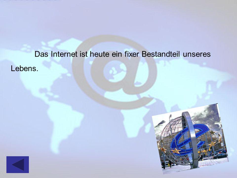Die Geschichte des Internets beginnt in den späten 50er Jahren des vorigen Jahrhunderts.