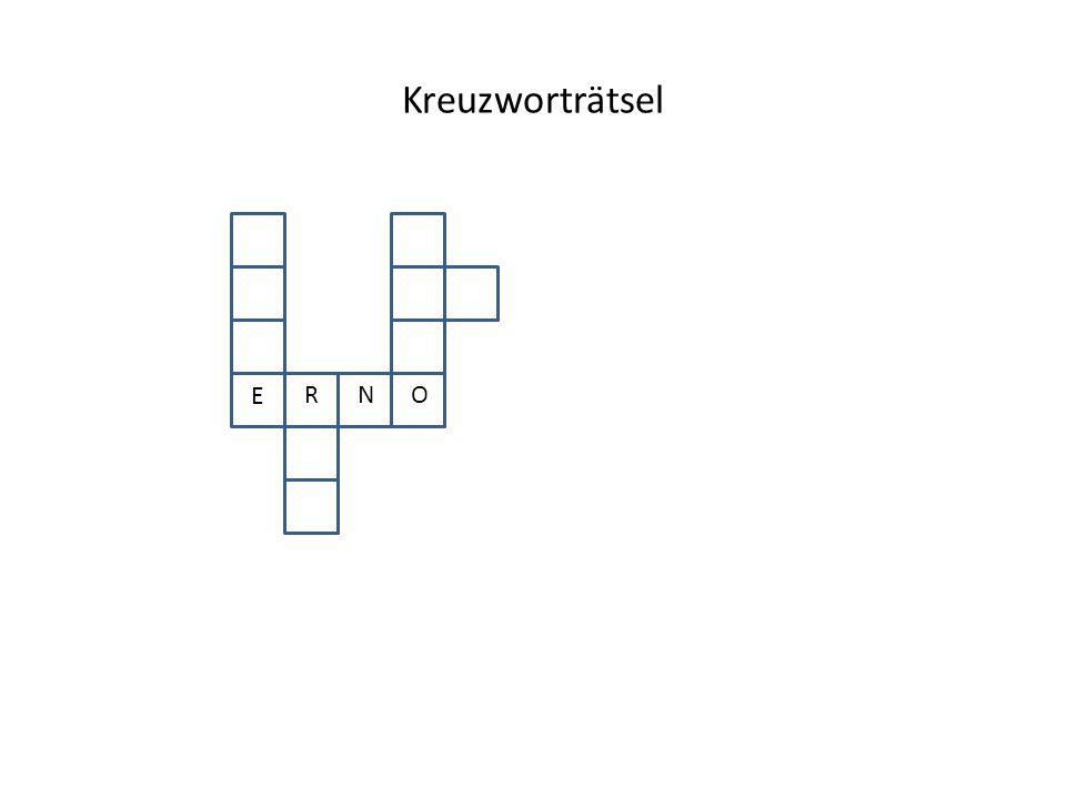 Kreuzworträtsel E ORN