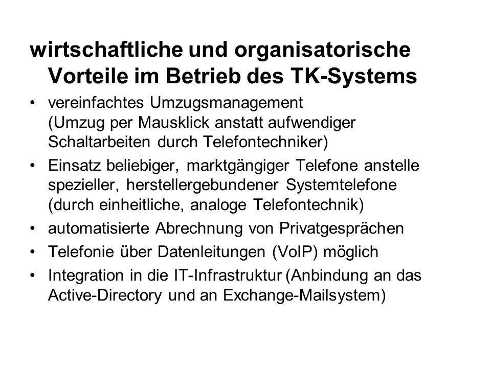 Erweiterte Möglichkeiten der herkömmlichen Telefonie: automatisierte Abrechnung v.