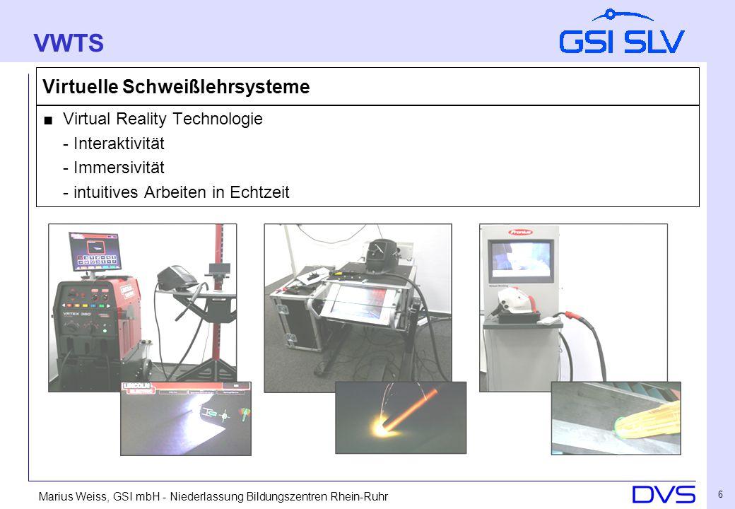 Marius Weiss, GSI mbH - Niederlassung Bildungszentren Rhein-Ruhr 17 Auswertung