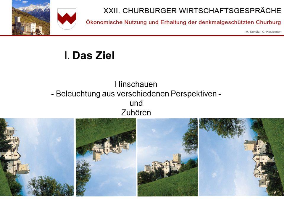 II.Historische Anlagen & Kulturtourismus 1) Worin liegt die Begeisterung für historische Anlagen.