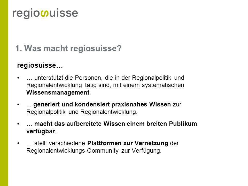Bestellformular Bestellen von regiosuisse-Publikationen.