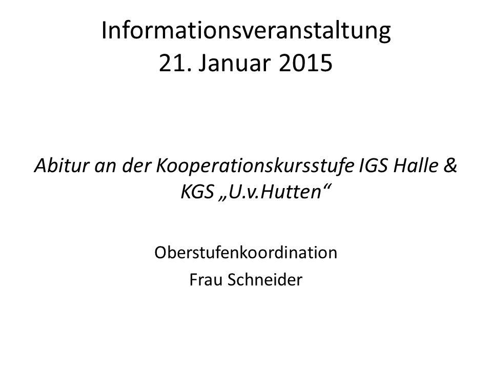 Informationsveranstaltung 21.