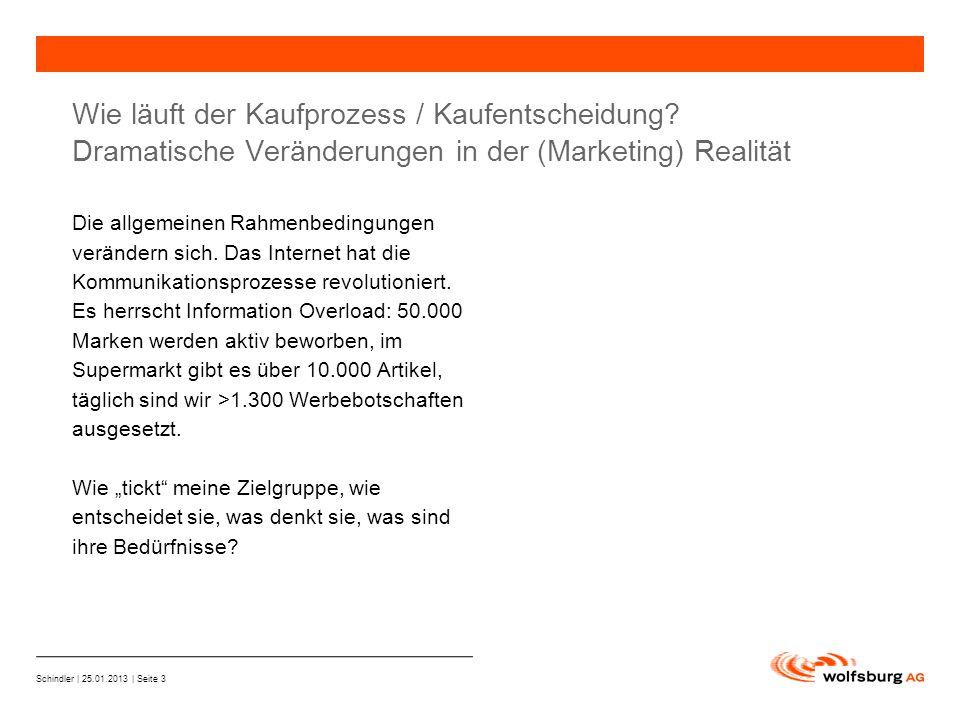 Schindler | 25.01.2013 | Seite 3 —Navigationsleiste —Aktueller Eintrag wird rot hervor- gehoben —Navigationsleiste weiter Wie läuft der Kaufprozess / Kaufentscheidung.