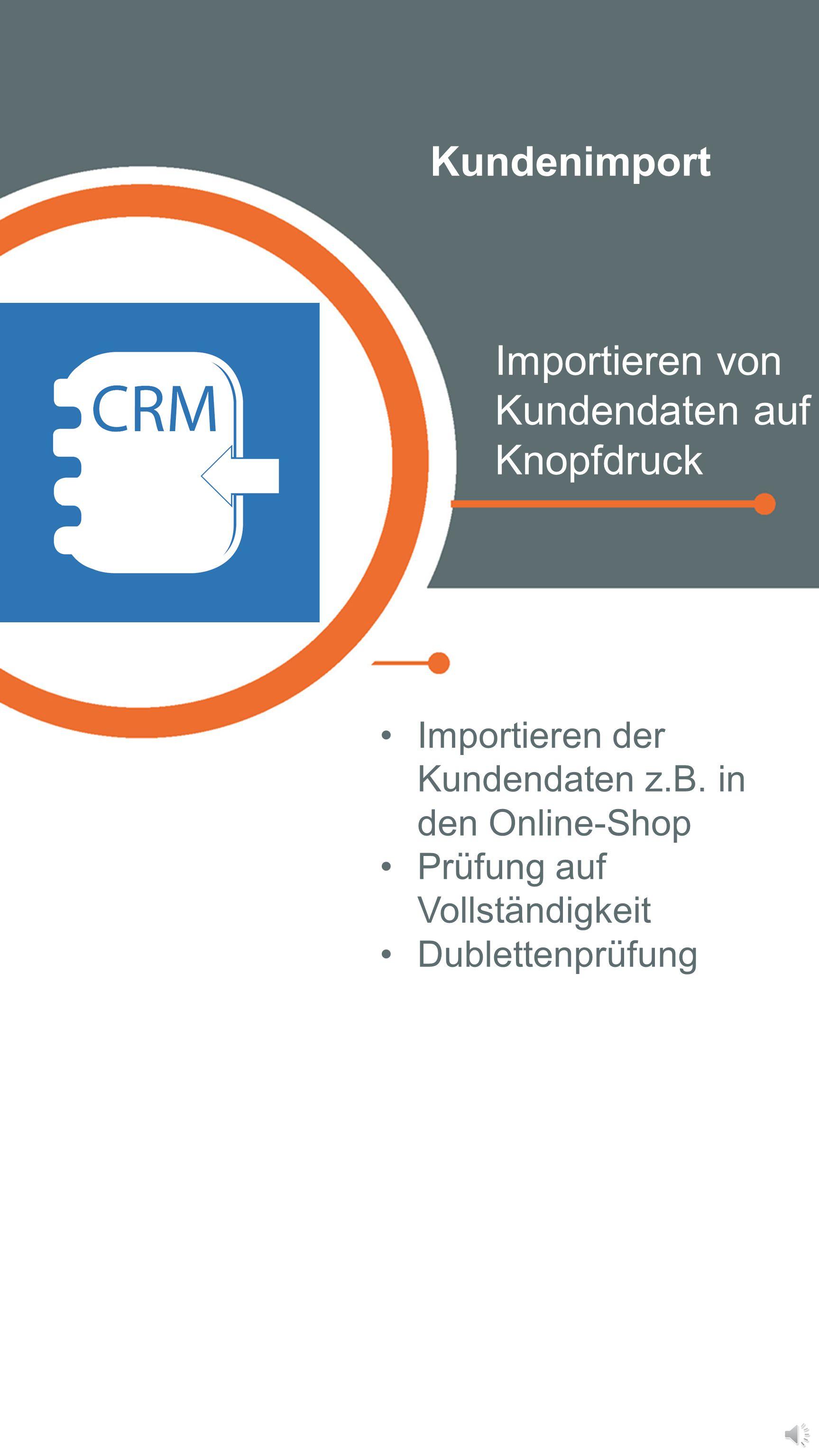 Kundenverwaltung Von der Analyse bis zur Kundenpflege Kundenkarten, Bonussysteme, individuelle Rabatte Selektiver Datenexport mit Seriendruckfunktion