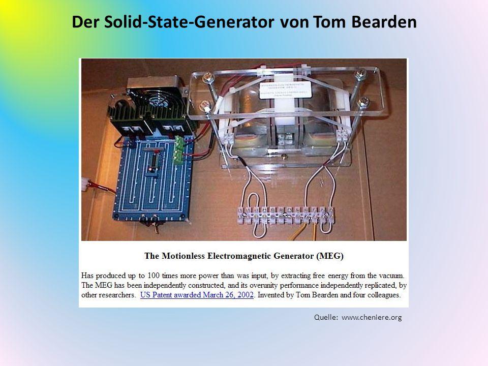Der Solid-State-Generator von Tom Bearden Quelle: www.cheniere.org