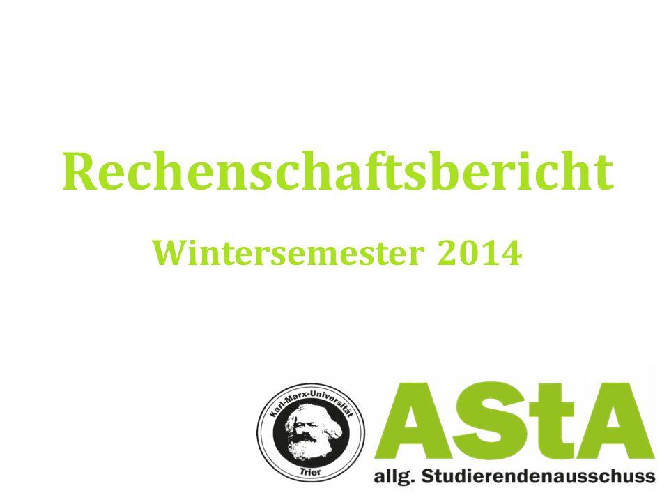 Rechenschaftsbericht Wintersemester 2014