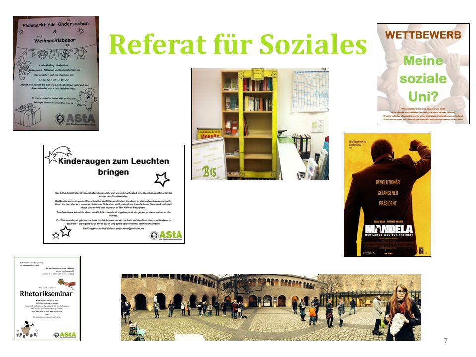 7 Referat für Soziales