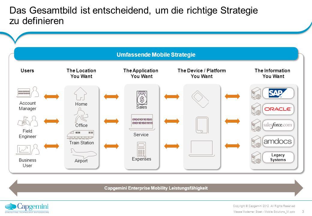 Architektur & Integration mobiler Anwendungen: Wir entwickeln moderne Architekturen und integrieren mobile Lösungen Mobile Architektur- und Integrations- Herausforderungen Wie werden mobile Lösungen in den existierenden Technologie-Stack meiner Anwendungslandschaft integriert.