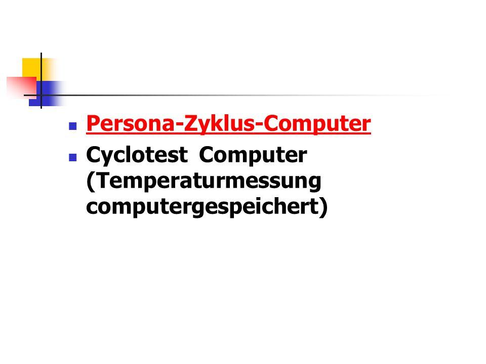 Persona-Zyklus-Computer Cyclotest Computer (Temperaturmessung computergespeichert)